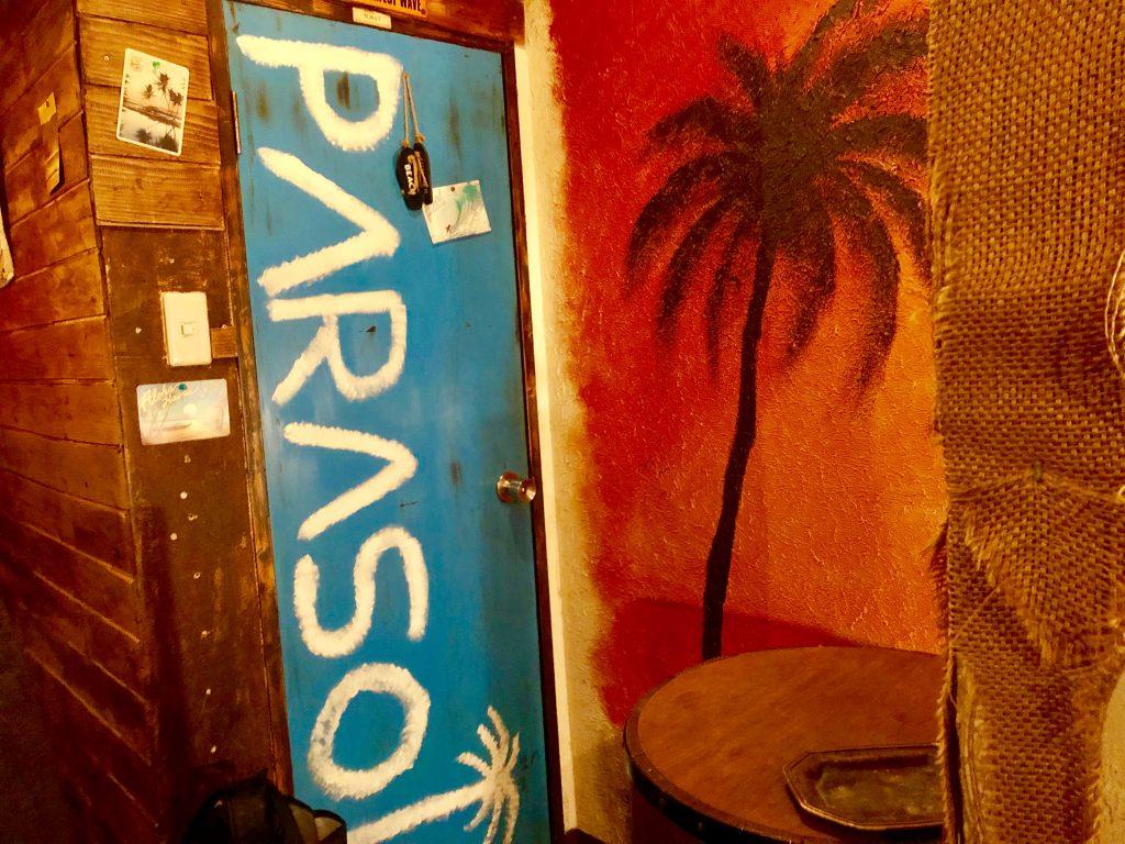 Beach Bar PARASOL トイレ
